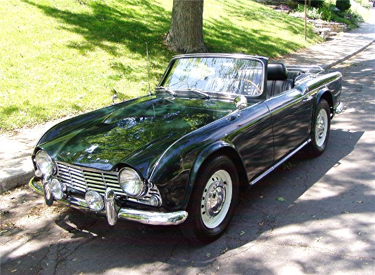 1964 triumph tr4 gentry lane automobiles. Black Bedroom Furniture Sets. Home Design Ideas
