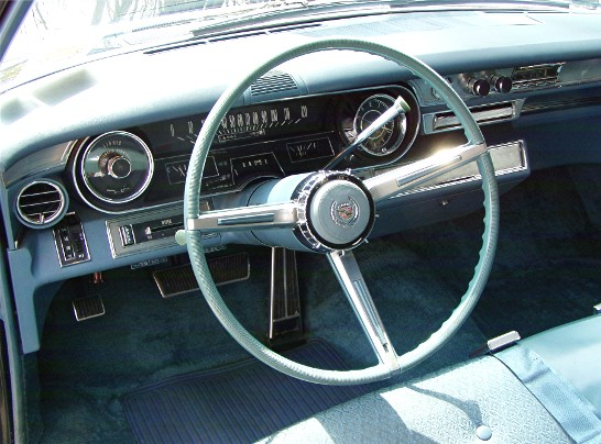 Ham Dash on 1966 Cadillac Fleetwood Brougham Interior