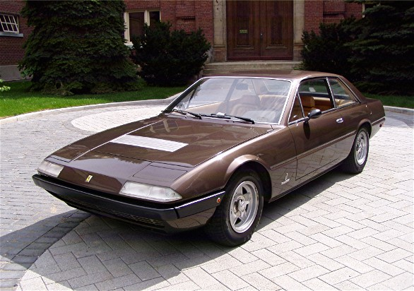 1973 ferrari 365 gt4 2 2 gentry lane automobiles. Black Bedroom Furniture Sets. Home Design Ideas
