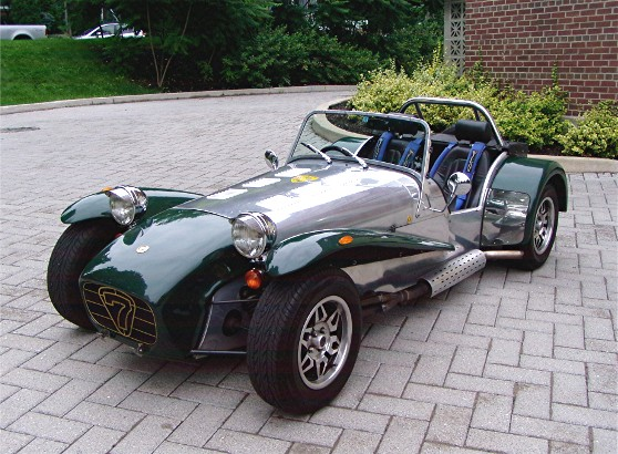 1990 caterham super 7 sprint gentry lane automobiles. Black Bedroom Furniture Sets. Home Design Ideas
