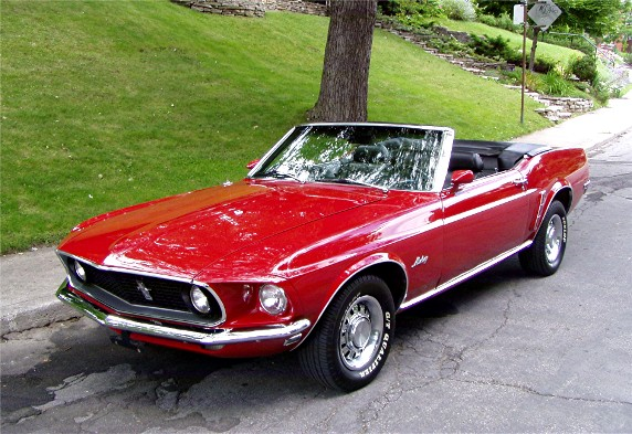 1969 ford mustang convertible gentry lane automobiles. Black Bedroom Furniture Sets. Home Design Ideas