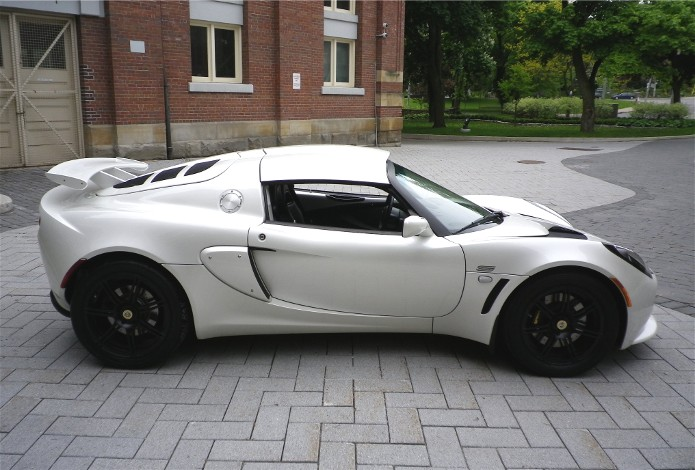 2008 lotus exige s240 ice white gentry lane automobiles. Black Bedroom Furniture Sets. Home Design Ideas