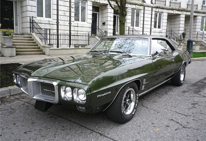 1969 Pontiac Firebird Gentry Lane Automobiles