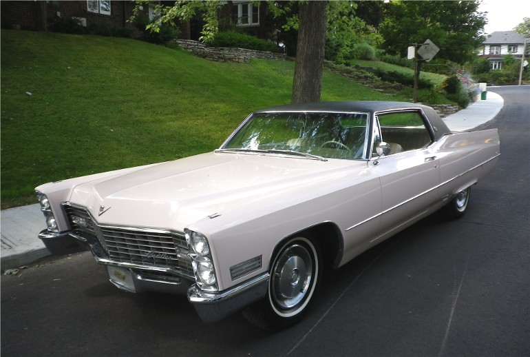 1967 Cadillac Coupe Deville Gentry Lane Automobiles