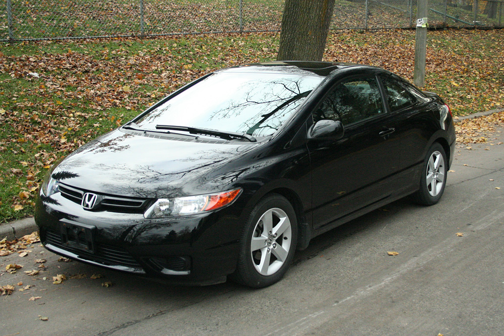 2006 honda civic ex coupe gentry lane automobiles. Black Bedroom Furniture Sets. Home Design Ideas