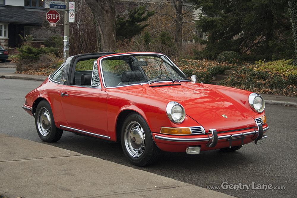 1969 Porsche 912 Targa Gentry Lane Automobiles