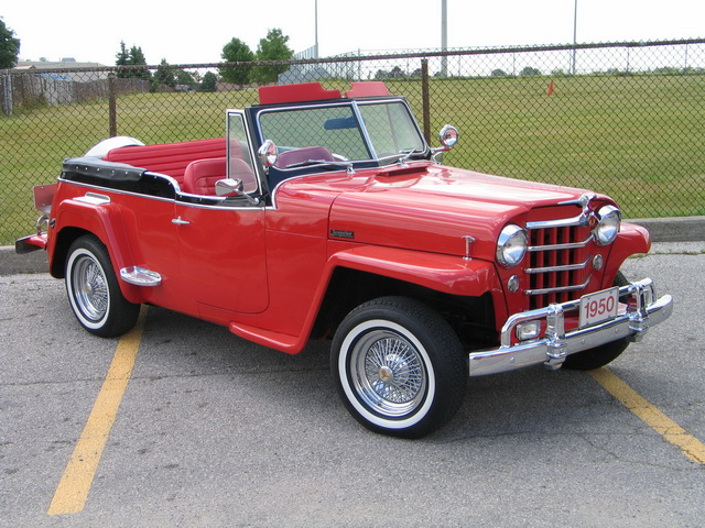 1950 Willys Jeepster | Gentry Lane Automobiles