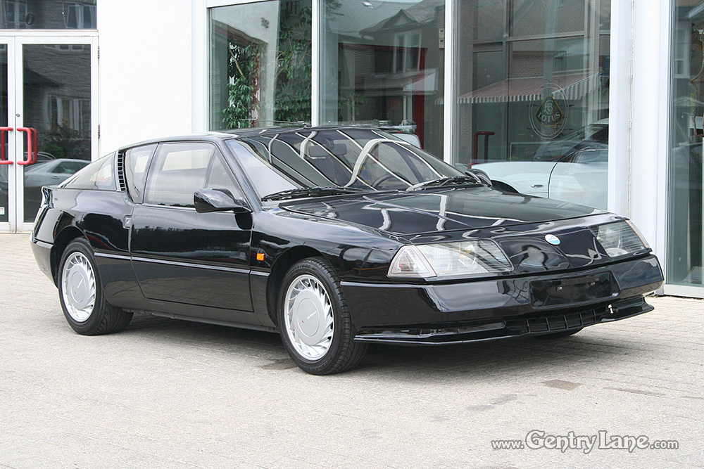 1991 renault alpine gta v6 turbo gentry lane automobiles. Black Bedroom Furniture Sets. Home Design Ideas