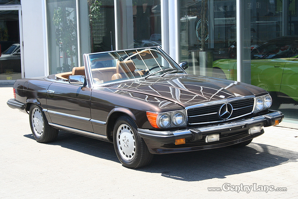 1980 mercedes benz 450sl convertible gentry lane automobiles for Mercedes benz house of imports service