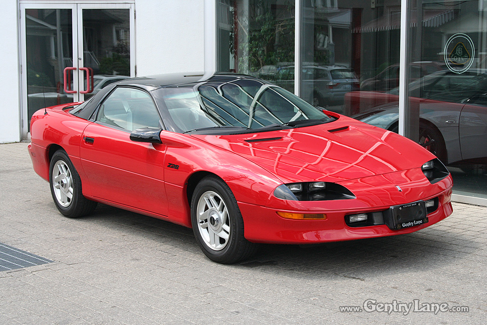 1993 Chevrolet Camaro Z28 Gentry Lane Automobiles