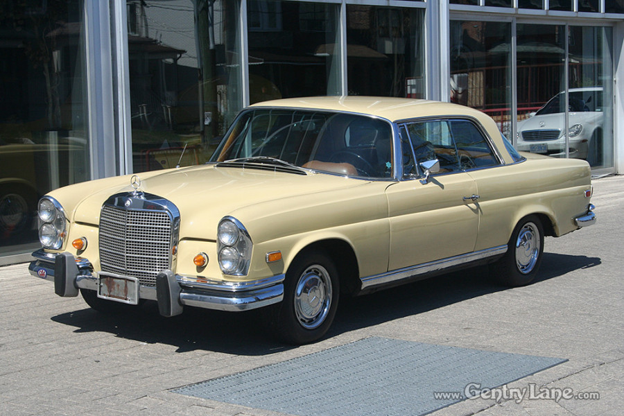 1969 mercedes benz 280se 2 door coupe gentry lane for Mercedes benz house of imports service