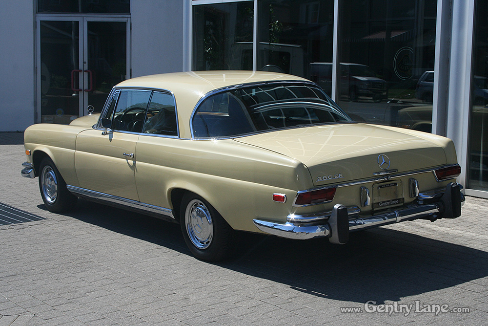 1969 mercedes benz 280se 2 door coupe gentry lane for 1969 mercedes benz